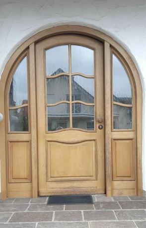 Usa casa vila firma lemn geam termopan boltita  H 220 x L 200 Germania