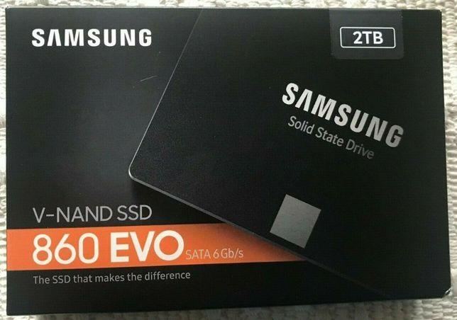 SSD Samsung 860 Evo 2TB Sata III MZ-76E2T0B-EU nou Sigilat