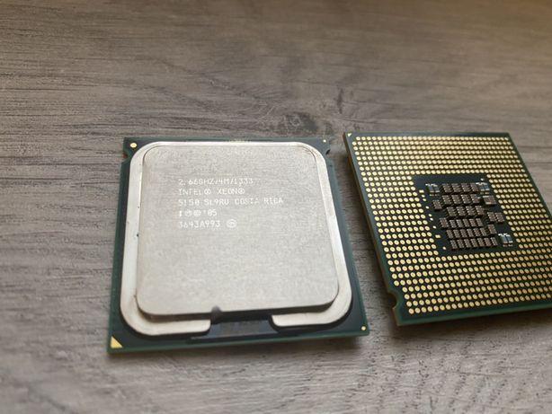 Процессор Intel® Xeon® 5150 2 штуки Socket 771
