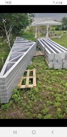 Vand structura metalică de 10 m cu 25m lungime