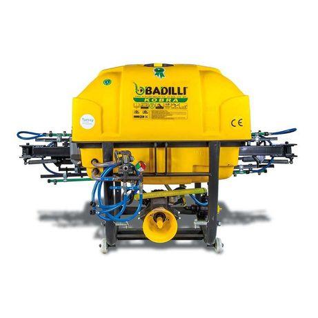 Пръскачка за трактор навесна щангова BADILLI 200 ЛИТРА + кардан