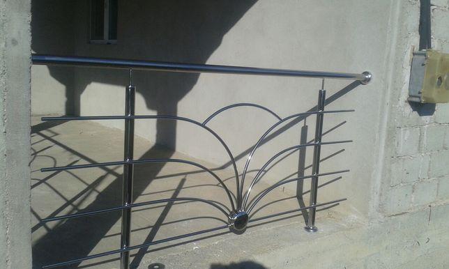 Balustrade inox/model floare