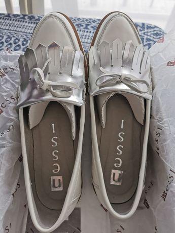 Дамски обувки Nessi естествена кожа