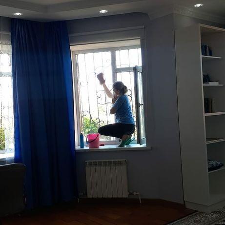 Уборка квартир в Алматы не дорого от 6000