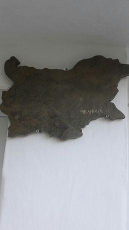 Декорация,каменна карта на България,камък.
