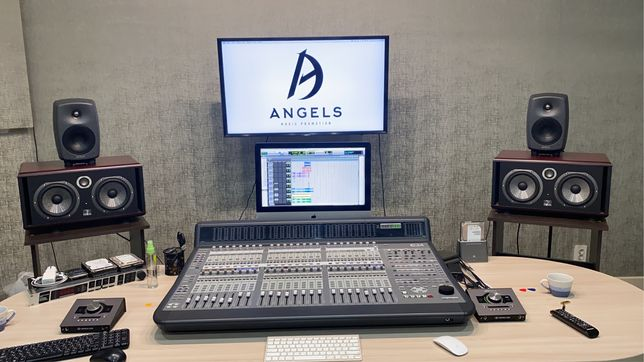 Angels Music Promotion - Студия звукозаписи