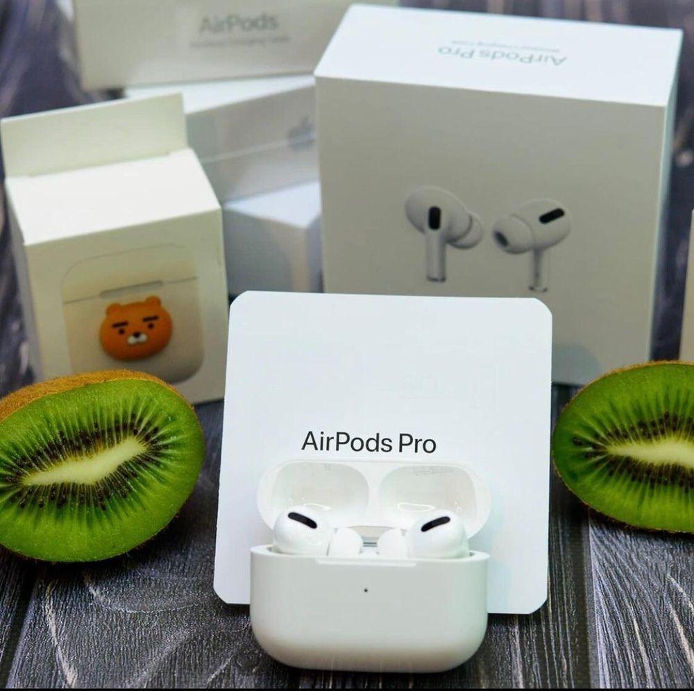 НОВЫЕ! Airpods Pro 1:1 Premium Lux премиум с gps локатором) айр подс