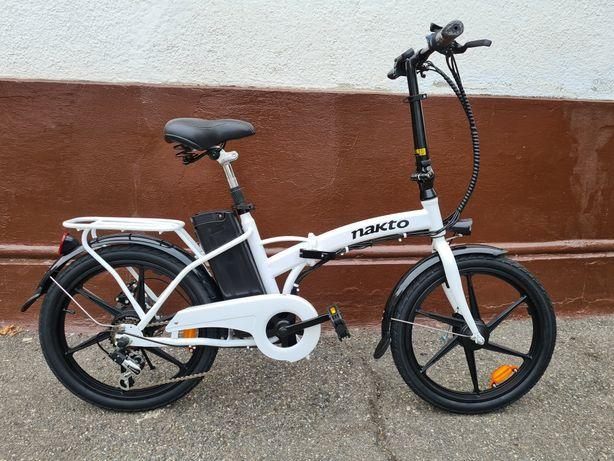 Bicicleta Pliabila Electrica 20 Nakto 35Km/h Shimano 2021
