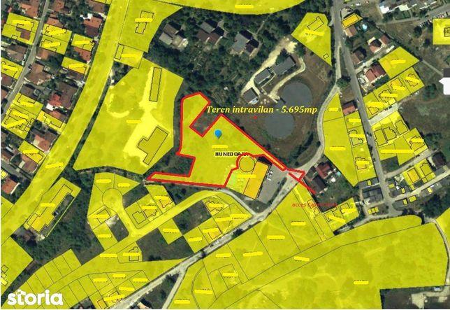 Zona Ciuperca - Teren intravilan - 5.695mp, Hunedoara