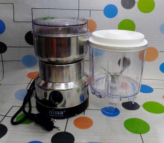 Кофемолка Блендер 2в1. Измельчитель для овощей, фруктов, орехов. ЗАВОД