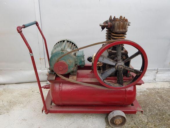 Компресор трифазен двигател