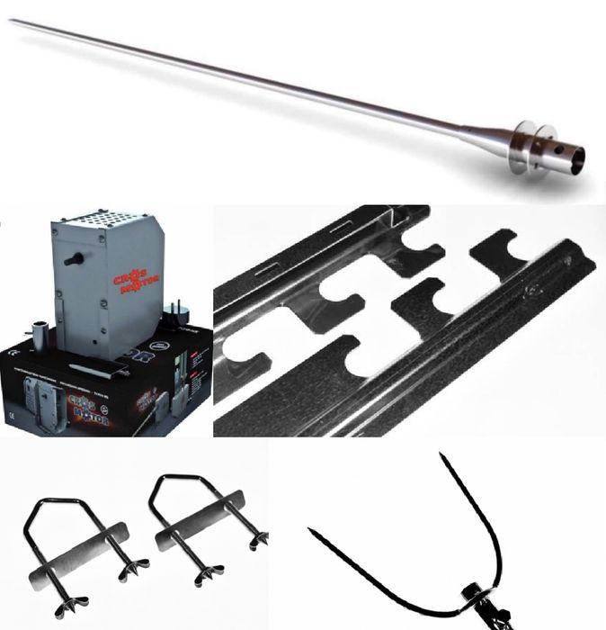 Pachet/Set Accesorii pentru gratar Protap cu Motor Tip M5, Cros Motor, Ploiesti - imagine 1