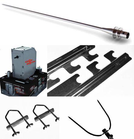 Pachet/Set Accesorii pentru gratar Protap cu Motor Tip M5, Cros Motor,