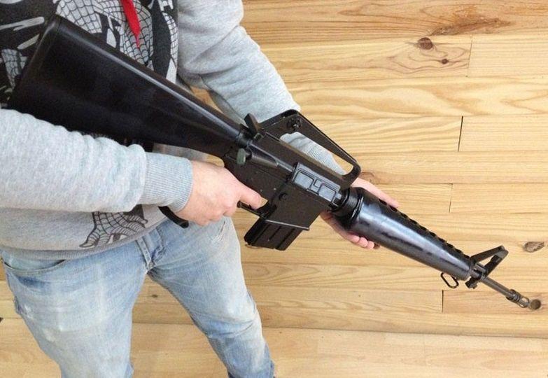 Автоматична пушка M16. Нестрелящ автоматичен дългоцев пистолет гр. София - image 1