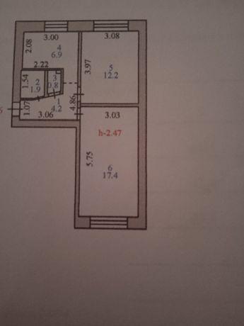 Срочно продам двухкомнатную квартиру Проспект Республики
