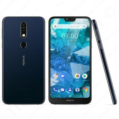 Nokia 7.1 чисто нов 32GB 3RAM 3060mAh 5.84 inch 12MP (TA-1100)