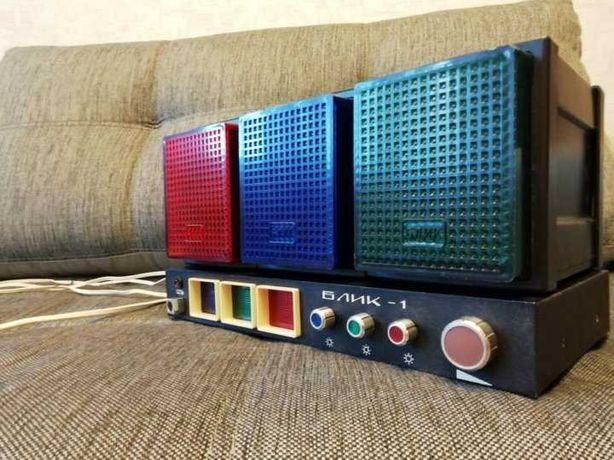Цветомузыкальная установка БЛИК-1