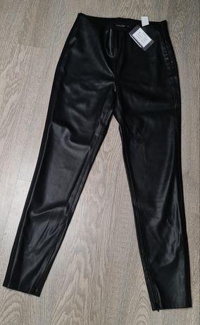 Кожаные лосины Zara новые.