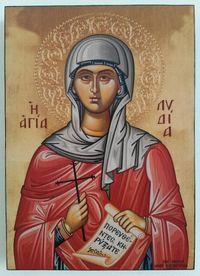Икона на Света Лидия ikona Sveta Lidia