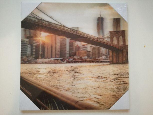 Tablou Brooklyn Bridge NY 3D