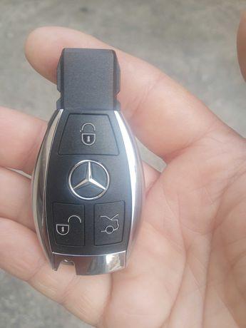 Нов ключ за Мерцедес  - 3 бутона.