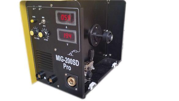 Co2 Инверторен телоподаващ апарат с електрожен MIG-MMA 200SD PRO
