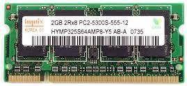 Memorie RAM 2Gb DDR2 667Mhz PC2-5300S SODIMM Laptop Notebook Tableta