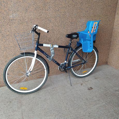 Кресло на багажник / Детское кресло для велосипеда