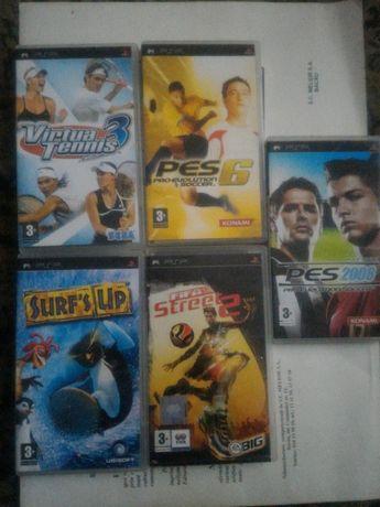 Jocuri PSP originale diverse - 5 jocuri