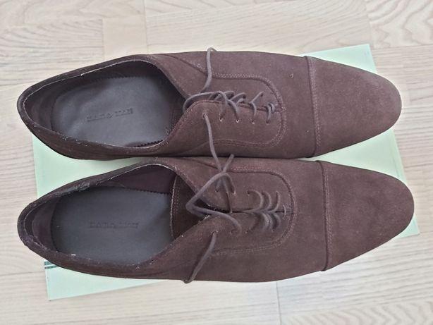Vand pantofi barbatesti 100% PIELE NATURALA marimea 44 ZARA MAN