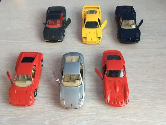 Колекция колички Ферари