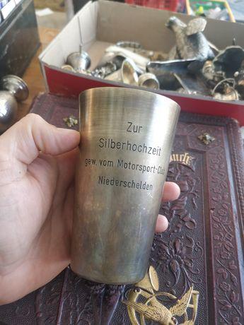 Pahar 300 ml din ARGINT 925 STERLING Volum mare - 138 gr