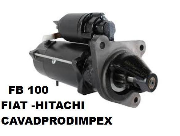 Electromotor buldoexcavator Fiat, Hitachi FB100