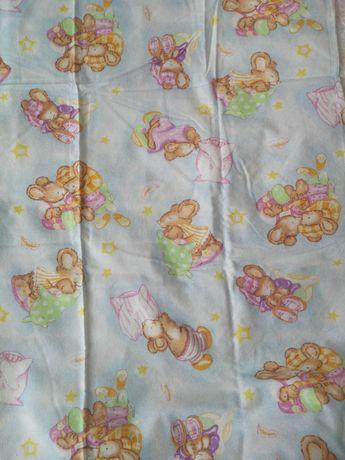 Луксозно детско спално бельо от бархет и ПОДАРЪК-бебешко одеало.