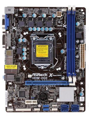 Kit Placa de baza - ASROCK H61M-DGS SI PROCESSOR I3-2120 3.30GHZ