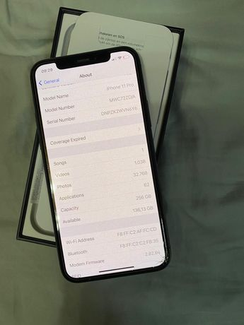 Iphone 11 Pro Space Gray - 256 gb