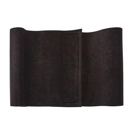centura lombara negru latime 20 cm cu scai pentru prindere
