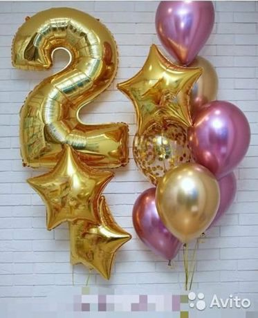 Воздушные шары на День Рождения!