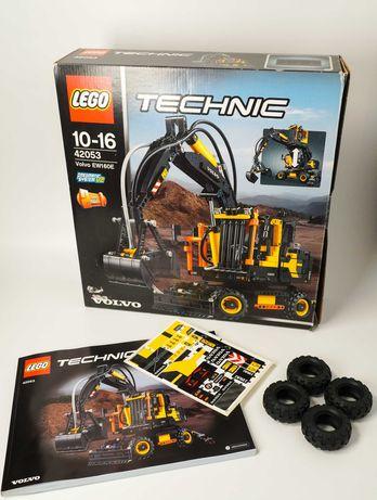LEGO Technic 42053 - Excavator pneumatic Volvo EW160E - pungi SIGILATE