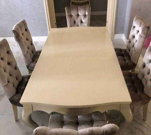 Стол стулья новые