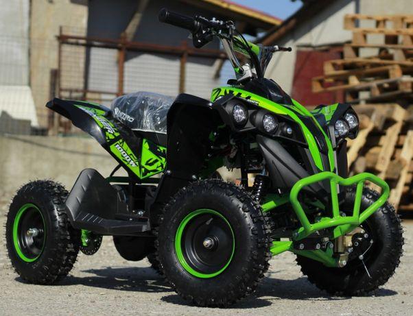 ATV electric pentru copii NITRO Avenger Eco Quad 1000W 48V #Green