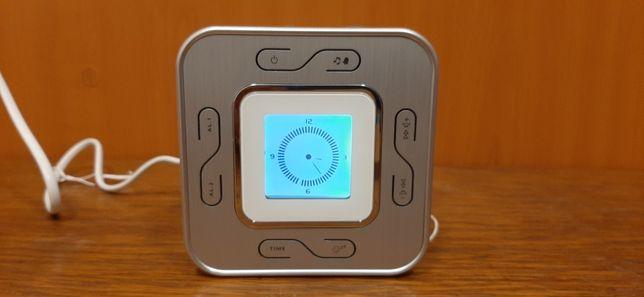 Radio ceas digital LCD dual cu alarma dubla - nou