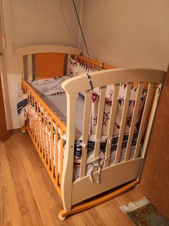 Patut copii Baby Italia 126x65 (saltea noua inclusa)