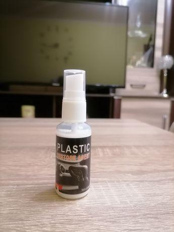 Продавам спрей за въстановяване на блясъка на пластмасовите части