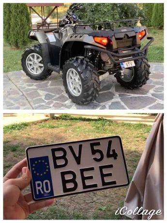 Numere auto placute auto ornamentale  jeep moto america