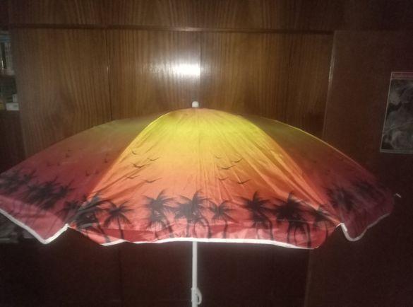 Чадър плажен или за риболов