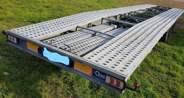 Trailer DUBLU Platforma 2 Auto 09/2019 8,5 m  Blyss Nedwiadov  3.5 T