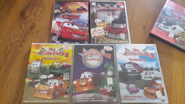 Masinute colectie DVD desene animate 6 bucati, NOI