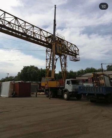 Кран автокран Алмата капчагай  25 тон