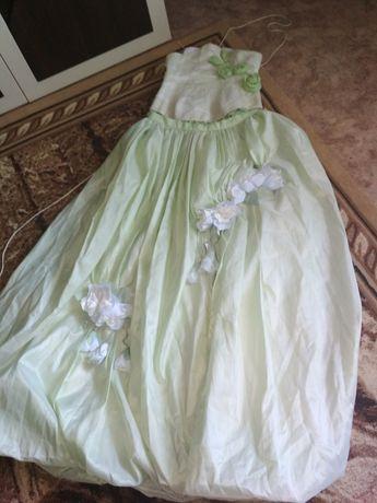 Платье с корсетом на выпускной или на кыз узату